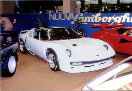 1981 Miura SVJ Spider #4808