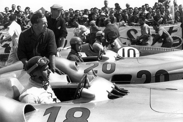 GP Francia Fangio - Klint - Ascari