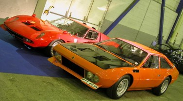 Lamborghini Jarama Bob Wallace und Lamborghini Miura Jota