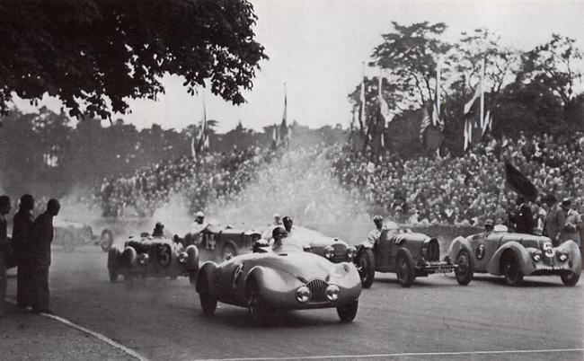 1945 Simca Gordini Type 8. Robert Benoist Cup
