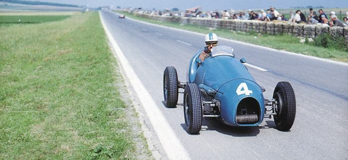 1953 GP Francia - maurice trintignant (gordini 16)