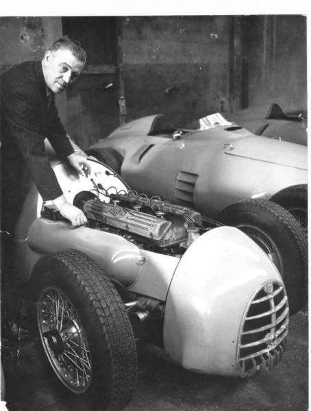 1954 Gordini 2.5 litres 6cilindros atmosférico
