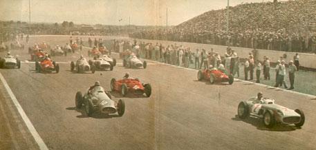 1955 GP de Argentina (Salida)