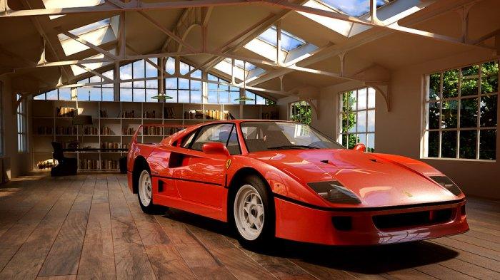 1987 Ferrari F40 (by melkorius)