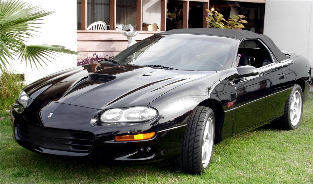 1998 camaro ss convertible coches clasicos de hoy. Black Bedroom Furniture Sets. Home Design Ideas