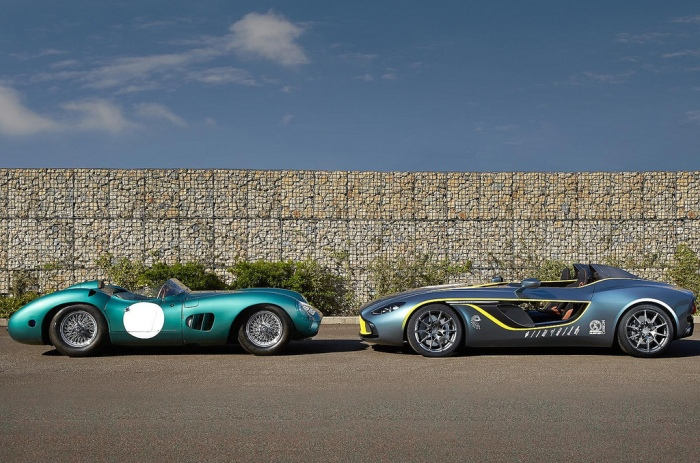 Aston Martin CC100 Speedster - Aston Martin DBR1