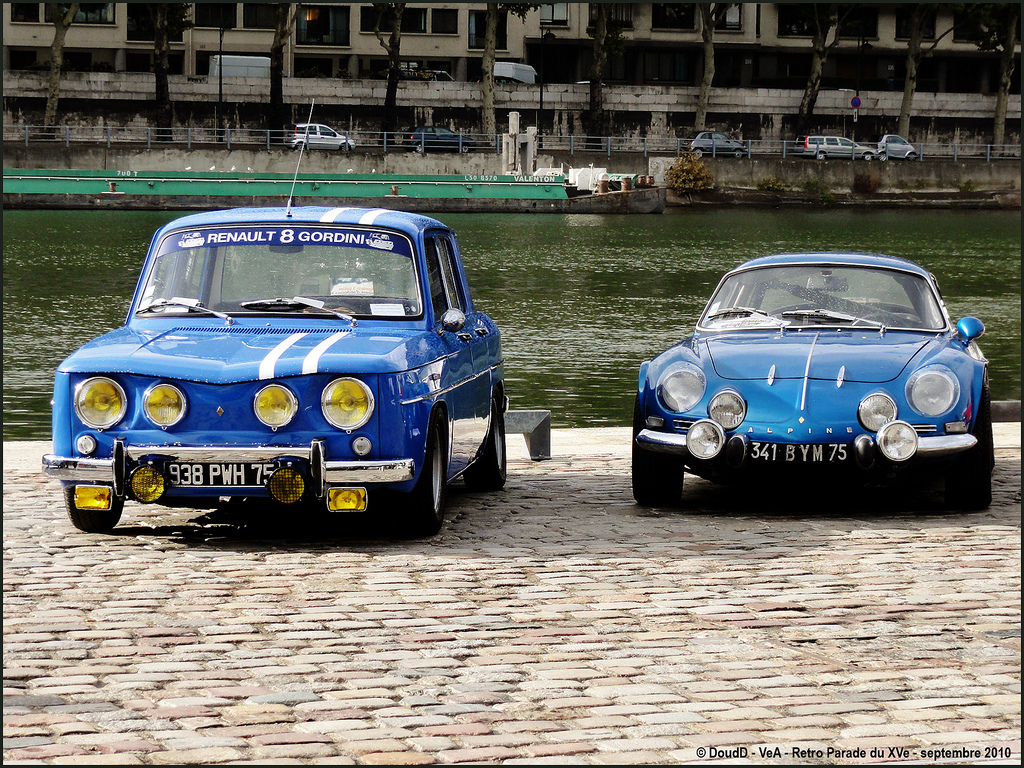 renault 8 gordini alpine a110 coches clasicos de hoy. Black Bedroom Furniture Sets. Home Design Ideas