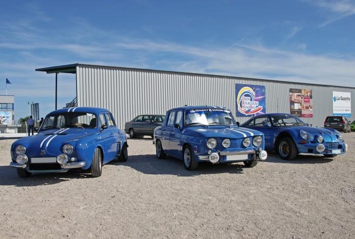 Renault Dauphine Gordini - R8 Gordini - Alpine A110
