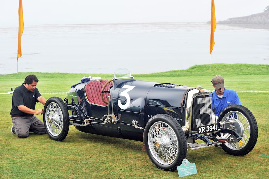 1925 aston martin 16 valve twin cam grand prix coches clasicos de hoy. Black Bedroom Furniture Sets. Home Design Ideas