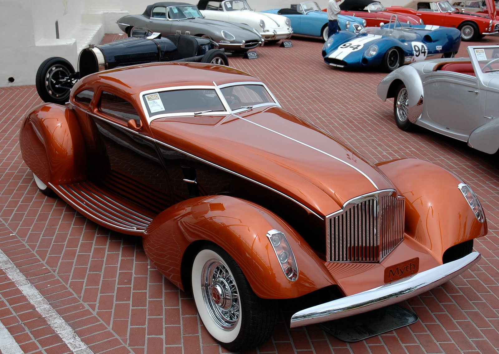 1996 packard myth 1934 boattail coupe coches for Classic american images