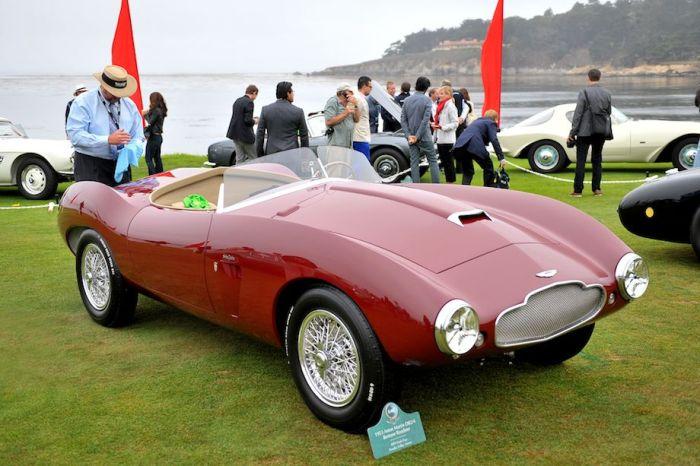 1953 Aston Martin DB2/4 Bertone Roadster