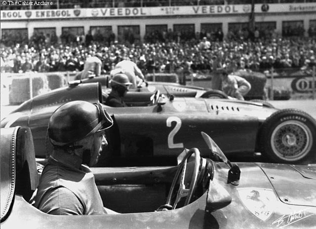 1956 GP de Alemania  - Salida