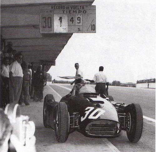 1956 GP de Argentina - Fangio