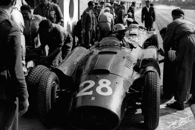 1956 GP de Europa (Monza) Musso