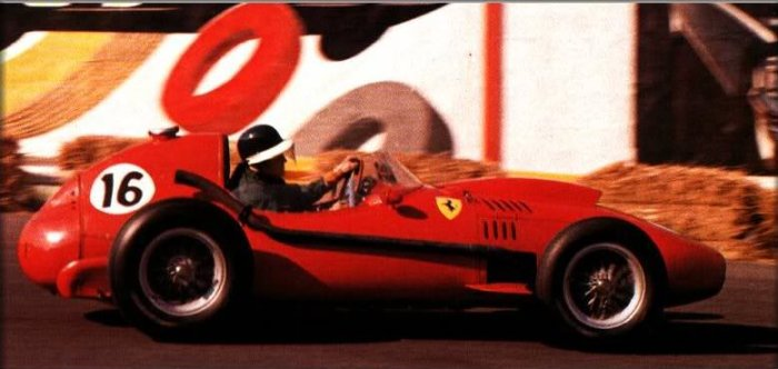 1958 GP de Belgica Mike Hawthorn Ferrari D246