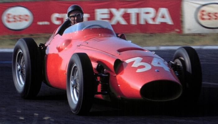 1958 GP de Francia Juan Manuel Fangio © Getty Images