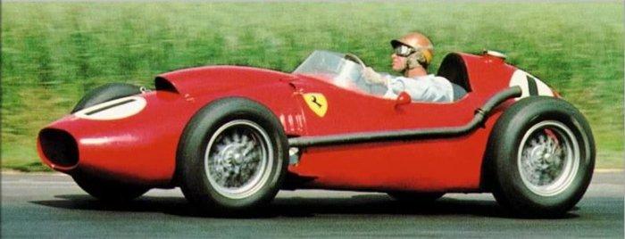 1958 GP de Gran Bretaña Silverstone Peter Collins Ferrari