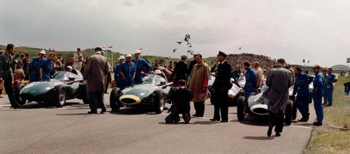 1958 GP de Holanda Salida
