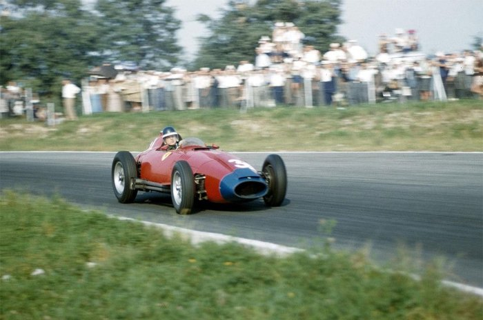 1958 GP de Italia Mike Hawthorn