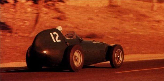 1958 GP de Marruecos Stuart Lewis-Evans Vanwall