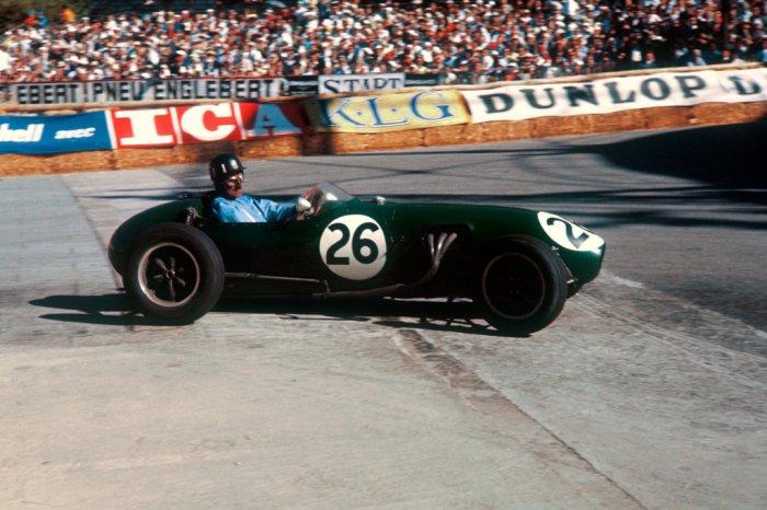1958 GP de Monaco Graham Hill