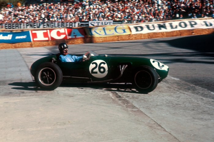 1958 GP de Monaco Graham Hill