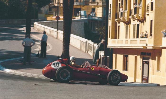 1958 GP de Monaco Wolfgang von Trips