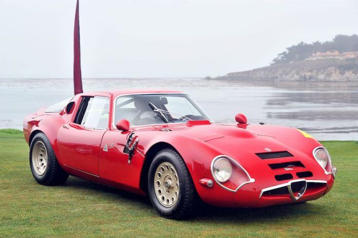 1967 Alfa Romeo TZ2 Zagato Coupe