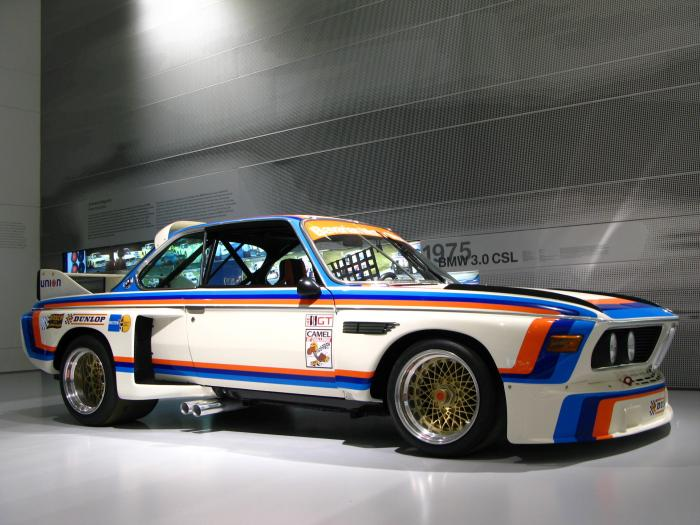 1971-1985 BMW 3.0 CSL MotorSport