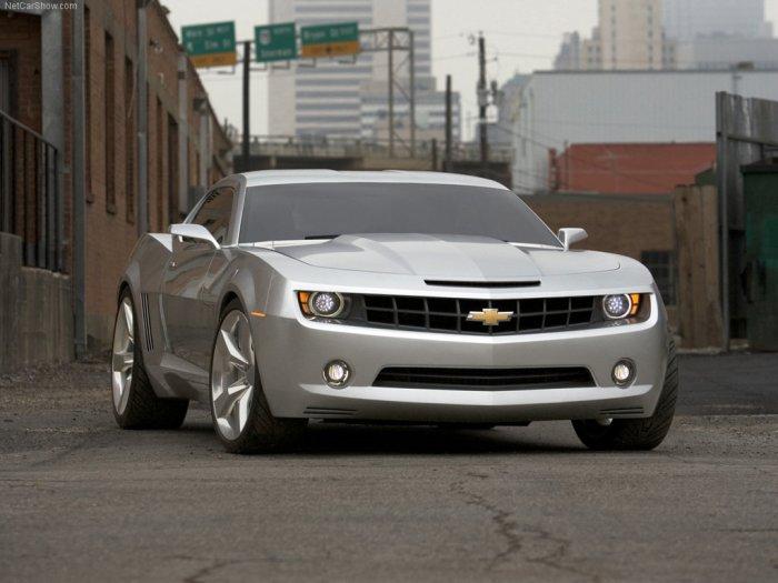 2006 Chevrolet Camaro Concept 4