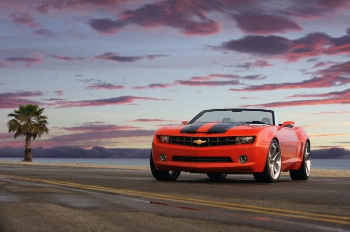 2007 Chevrolet Camaro Convertible Concept