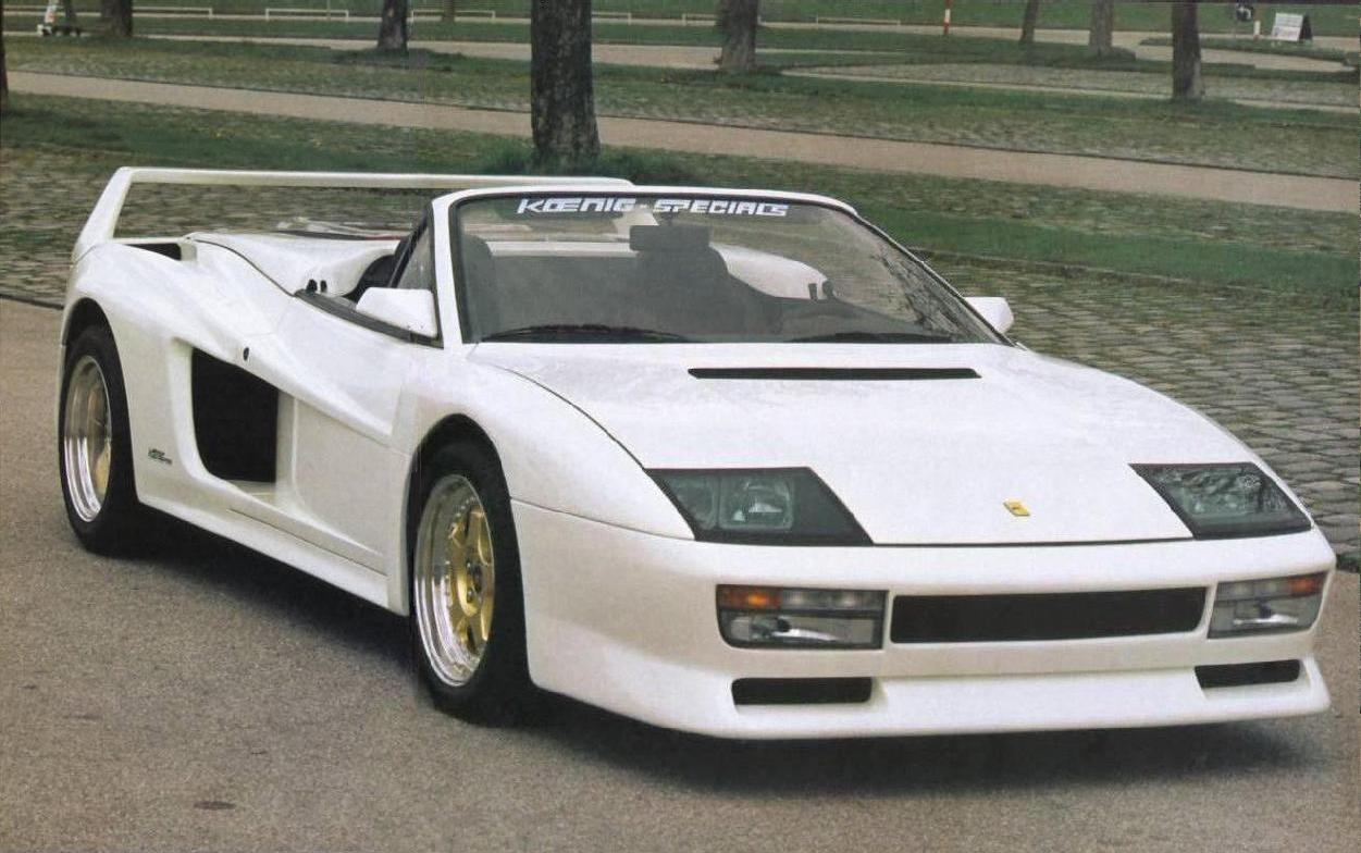 Koenig Testarossa You Know You Want To Pistonheads