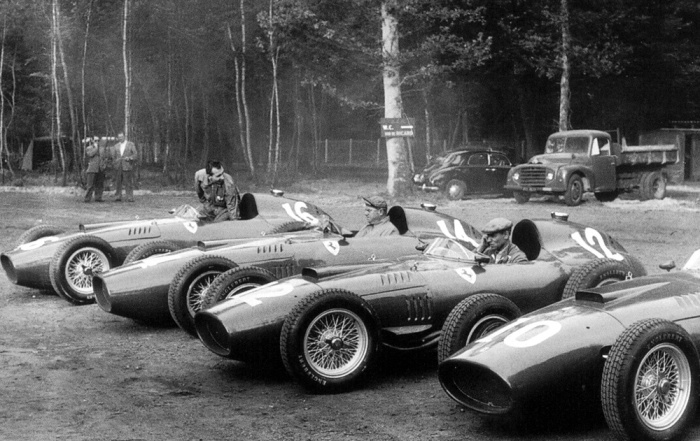 GP de Francia 1957  (ferrari 801s)