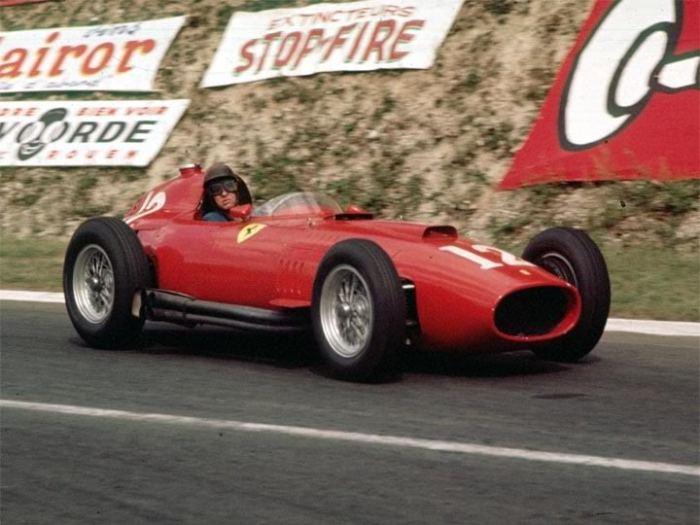 GP de Francia 1957 - Peter Collins Ferrari