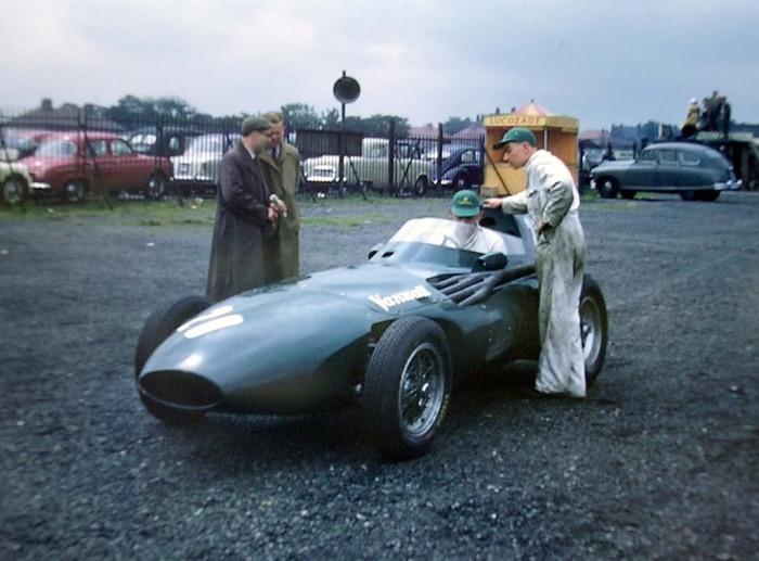 GP de Inglaterra 1957 Aintree Vanwall VW