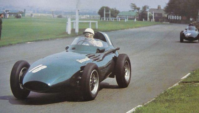 GP de Inglaterra 1957 moss aintree vanwall