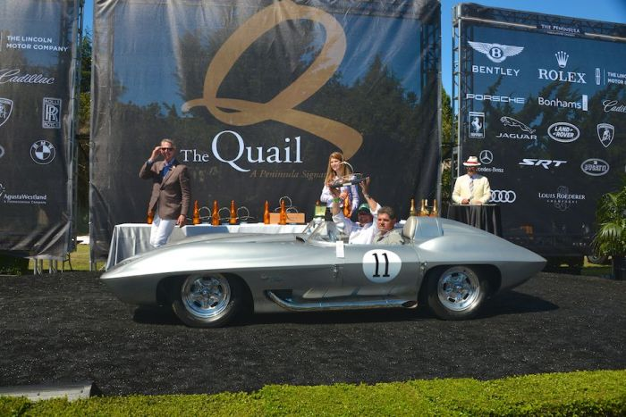 1959 Chevrolet Corvette, Peter Brock Class Winner
