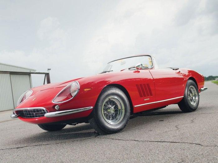 RM Auctions Ferrari 275 GTB/4 N.A.R.T Spyder