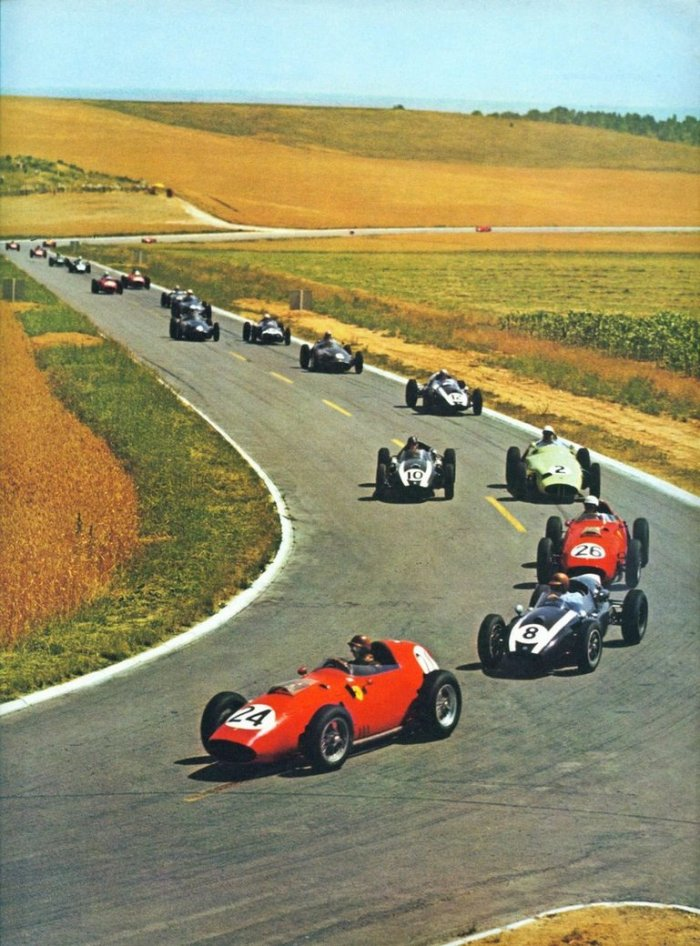 1959 GP de Francia  (First Lap)