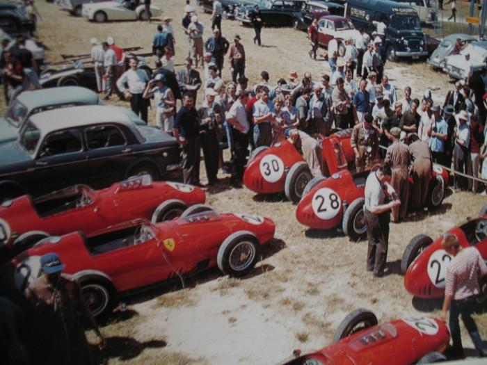 1959 GP de Francia Ferrari Reims