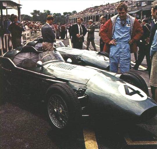 1959 GP de Gran Bretaña - Carroll Shelby - Aston Martin DBR4