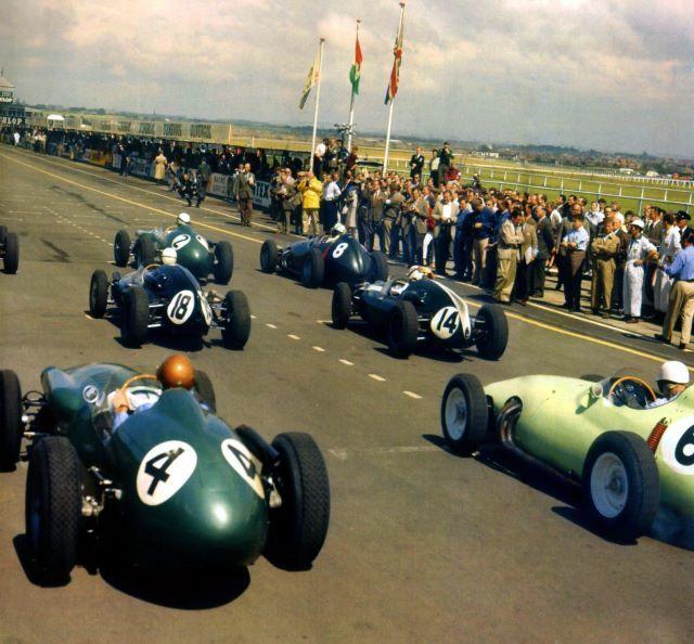 1959 GP de Gran Bretaña Salida