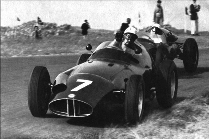 1959 GP de Holanda Zandvoort (Jo Bonnier, BRM P25)