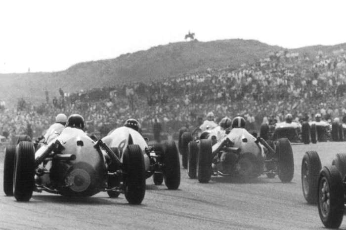 1959 GP de Holanda Zandvoort Salida