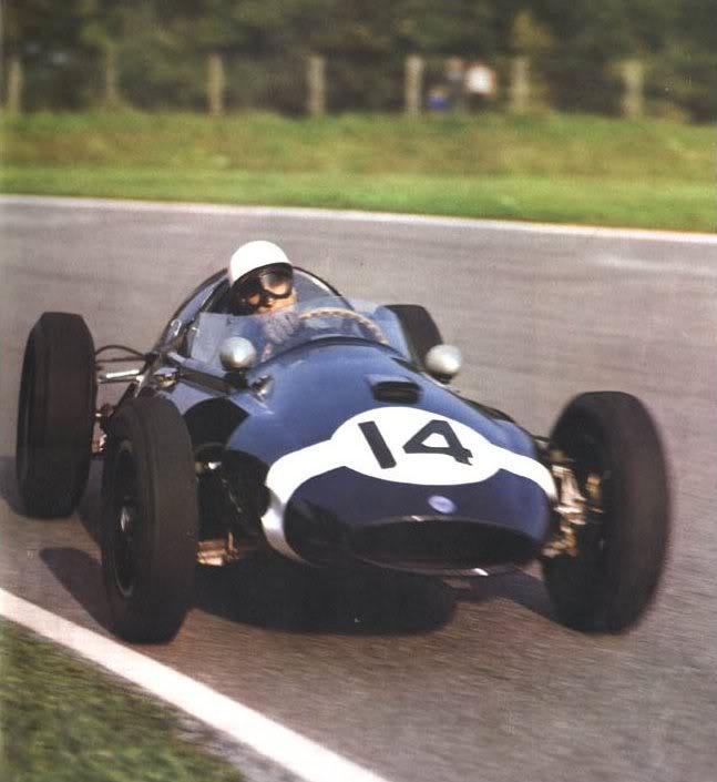 1959 GP de Italia Monza Stirling Moss Cooper T51