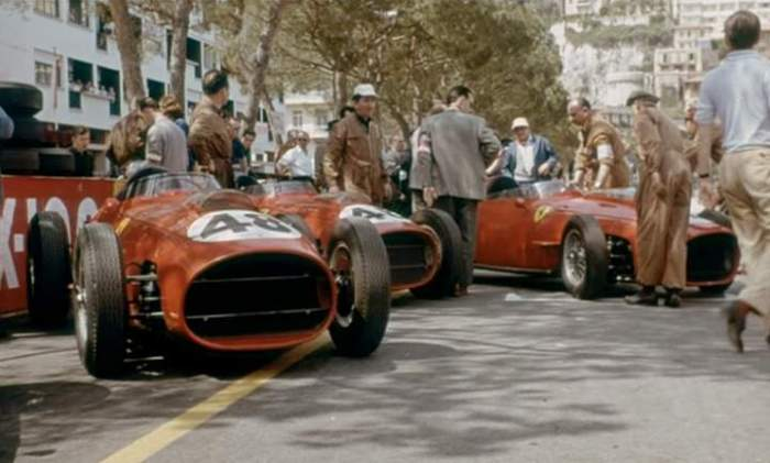 1959 GP de Mónaco Ferrari