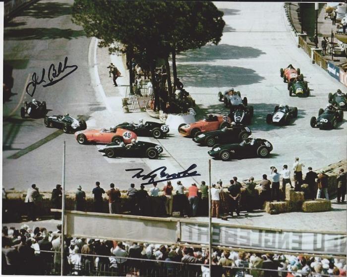 1959 GP de Monaco Salida