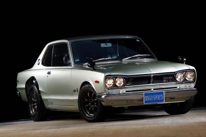 Nissan Skyline GT-R Coupe 1970-1