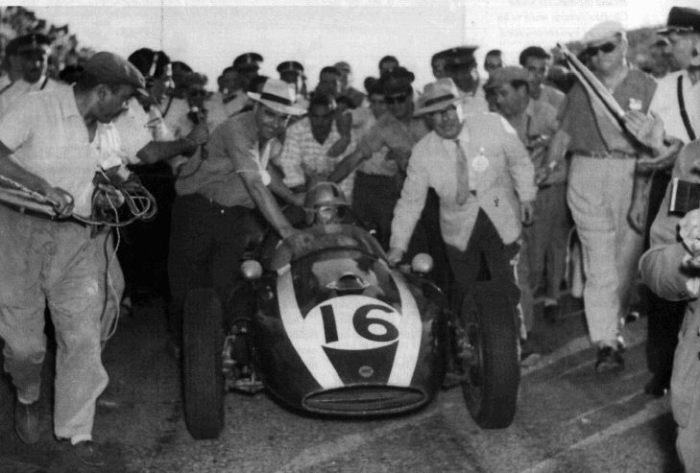 1960 GP de Argentina Bruce McLaren