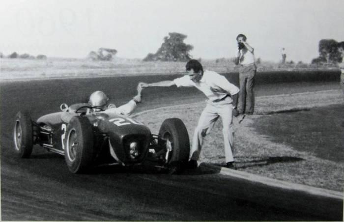 1960 GP de Argentina - Innes Ireland - Lotus 18